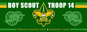 Troop 14 Banner